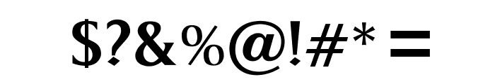 OPTIKeene-Medium Font OTHER CHARS