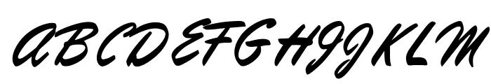 OPTIKipling Font UPPERCASE