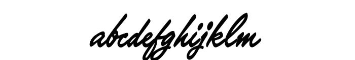 OPTIKipling Font LOWERCASE