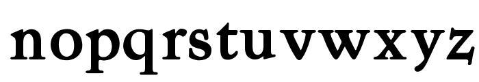 OPTIKite-Bold Font LOWERCASE