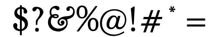 OPTIKiteLight Font OTHER CHARS