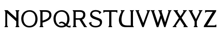 OPTIKorinna-Agency Font UPPERCASE