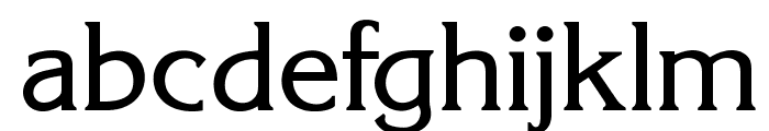 OPTIKorinna-Agency Font LOWERCASE