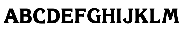OPTIKorinnaExtraBoldAgency Font UPPERCASE