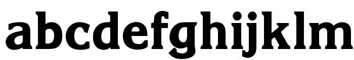 OPTIKorinnaExtraBoldAgency Font LOWERCASE