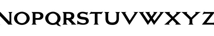 OPTILagoon-Bold Font UPPERCASE