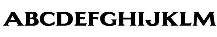 OPTILagoon-ExtraBold Font UPPERCASE