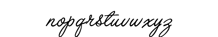 OPTILariatScript Font LOWERCASE
