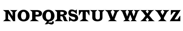 OPTILatin-Bold Font UPPERCASE