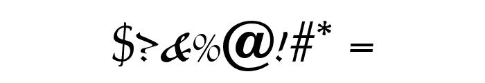 OPTILegende-Uncial Font OTHER CHARS