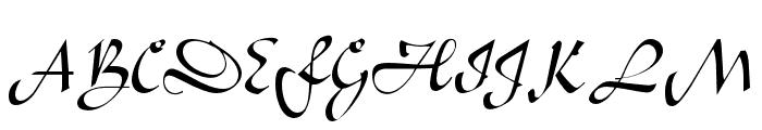 OPTILegende-Uncial Font UPPERCASE