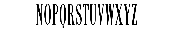 OPTILency Font UPPERCASE