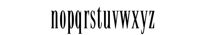 OPTILency Font LOWERCASE