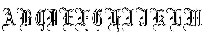 OPTILeonTextC Font UPPERCASE