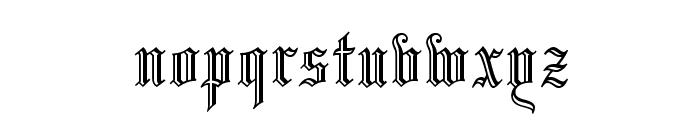 OPTILeonTextC Font LOWERCASE