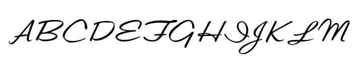 OPTILester Font UPPERCASE