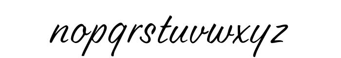 OPTILester Font LOWERCASE