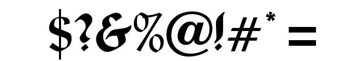 OPTILignier-Caps Font OTHER CHARS