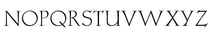 OPTILocca-Light Font UPPERCASE