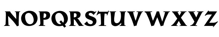 OPTILoccaExtra-Bold Font UPPERCASE