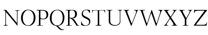 OPTILondon-Roman Font UPPERCASE