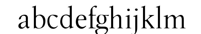 OPTILondon-Roman Font LOWERCASE