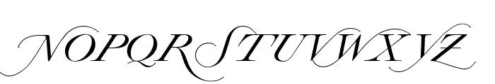OPTILordSwash Font UPPERCASE