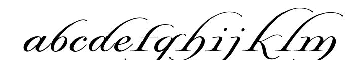 OPTILordSwash Font LOWERCASE