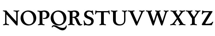 OPTILuciusAd-Bold Font UPPERCASE