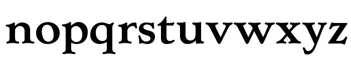 OPTILuciusAd-Bold Font LOWERCASE