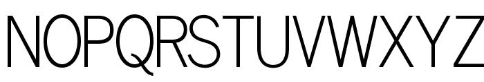 OPTILuna-Gothic Font UPPERCASE