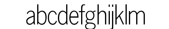 OPTILuna-Gothic Font LOWERCASE
