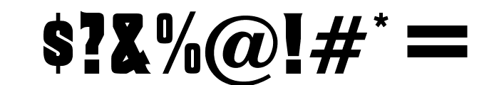 OPTIMacBethOldStyle Font OTHER CHARS