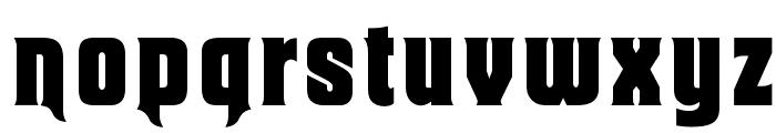OPTIMacBethOldStyle Font LOWERCASE
