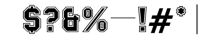 OPTIMackeySportContour Font OTHER CHARS