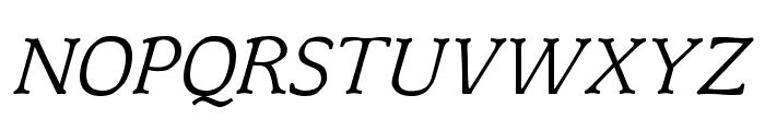 OPTIMagnaCarta-Italic Font UPPERCASE