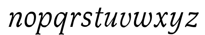 OPTIMagnaCarta-Italic Font LOWERCASE