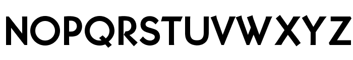 OPTIMalouGothicBold Font UPPERCASE