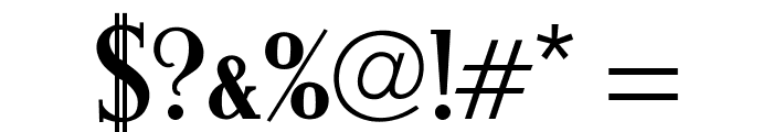 OPTIMargueritte-SolidBold Font OTHER CHARS