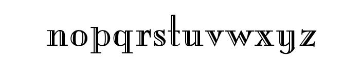 OPTIMargueritte Font LOWERCASE