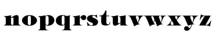OPTIMarkberry-Heavy Font LOWERCASE