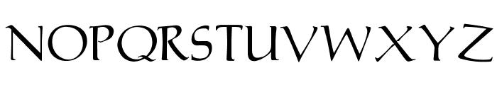 OPTIMarkusRoman Font UPPERCASE