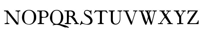 OPTIMayflower Font UPPERCASE