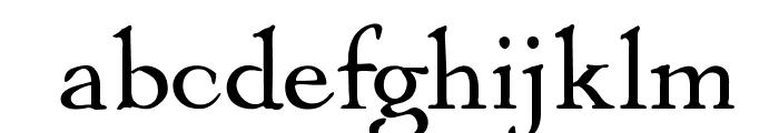 OPTIMayflower Font LOWERCASE
