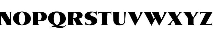 OPTIMetropolis-Bold Font UPPERCASE