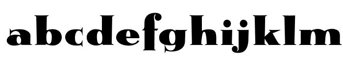 OPTIMetropolis-Bold Font LOWERCASE