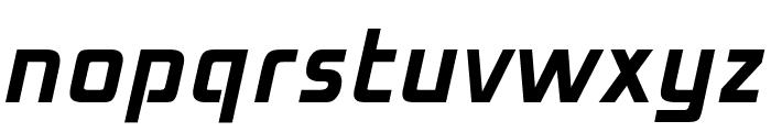 OPTIMirc-Bold Font LOWERCASE