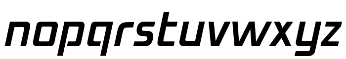 OPTIMirc-Light Font LOWERCASE