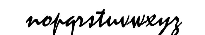 OPTIMistral-Graff Font LOWERCASE