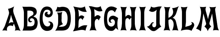 OPTIMiyako-Black Font UPPERCASE